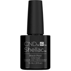Гель-лак CND Shellac Black Pool (15мл)