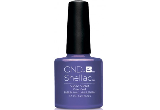 Гель-лак CND™ Shellac™ Video Violet Фото 1