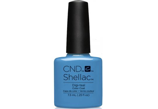 Гель-лак CND™ Shellac™ Digi-teal Фото 1