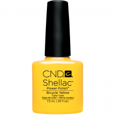Гель-лак CND Shellac Bicycle Yellow