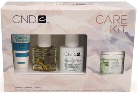 Маникюрный набор CND Essentials Holiday Care Kit