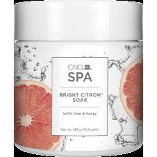 Средство для мацерации CND™ SPA Bright Citron Soak (410г)