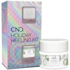 Набор CND™ Holiday Heeling Kit (крем для ног 74г +носки)