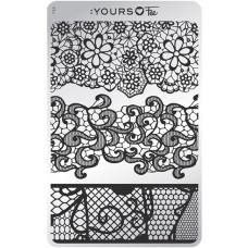 Пластина для стемпинга :YOURS Loves Fee – Vintage Lace YLF 04