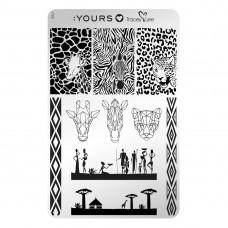 Пластина для стемпінга :YOURS Loves Tracey - YLT06 - Afridisiac