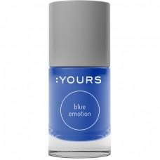 Синий лак для стемпинга :YOURS Blue Emotion