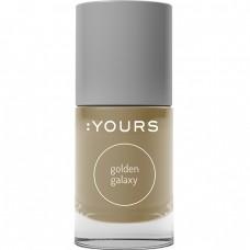 Золотой лак для стемпинга :YOURS Golden Galaxy