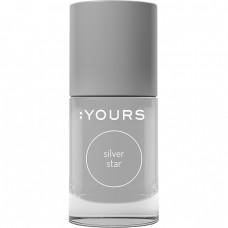 Серебряный лак для стемпинга :YOURS Silver Star