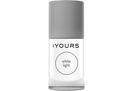 Білий лак для стемпінга :YOURS White Light Фото 1