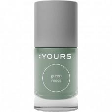Салатовый лак для стемпинга :YOURS Green Moss