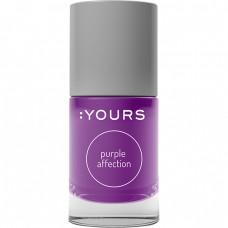 Фиолетовый лак для стемпинга :YOURS Purple Affection