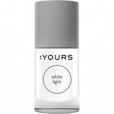 Белый лак для стемпинга :YOURS White Light