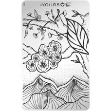 Пластина для стемпинга :YOURS Loves Fee – Fineline Landscape YLF 13