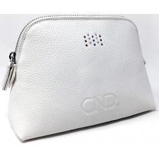 Cумка брендовая белая CND™ Swarosvki Pouch