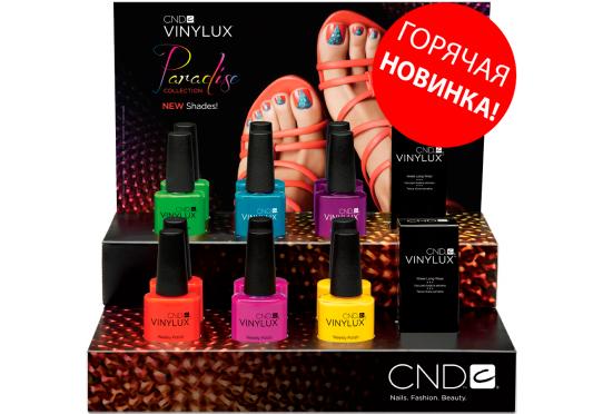 Набор лаков для ногтей CND™ Vinylux™ Paradise Summer 2014