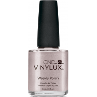 CND Vinylux #194 Contradiction Saferi Pin (нежный серебристо-бежевый с микроблеском)