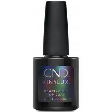 Закрепитель перламутровый CND Vinylux Pearl Top Coat