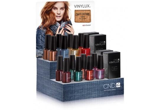 Набор лаков для ногтей CND™ Vinylux™ Craft Culture Large (8 лаков, 2 закрепителя)
