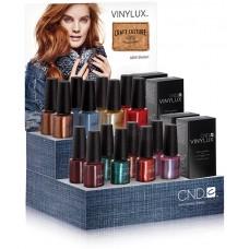 Набор лаков для ногтей CND Vinylux Craft Culture Large (8 лаков, 2 закрепителя)