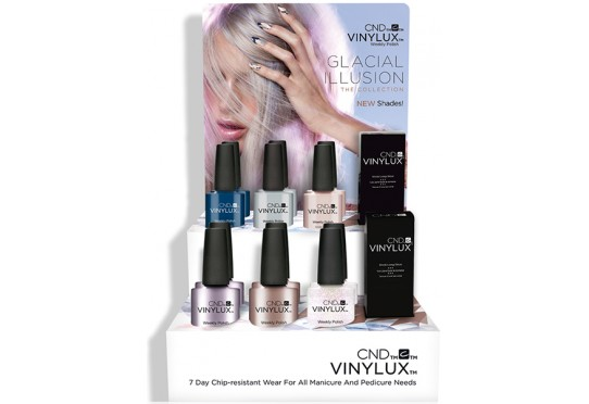 Набір лаків Vinylux™ Glacial Illusion (6 лаків + 1 Закріплювач)