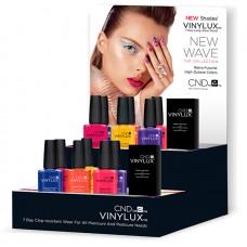Набор лаков для ногтей CND Vinylux New Wave Pop (6 лаков + 1 закрепитель)