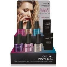 Набор лаков для ногтей CND Vinylux Nightspell (6 лаков + 1 закрепитель)
