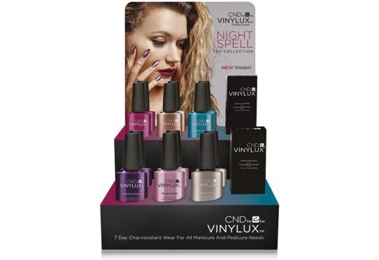 Набор лаков для ногтей CND™ Vinylux™ Nightspell (6 лаков + 1 закрепитель)
