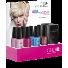 Набор лаков для ногтей CND Vinylux Art Vandal Small (4 лака и 1 закрепитель)