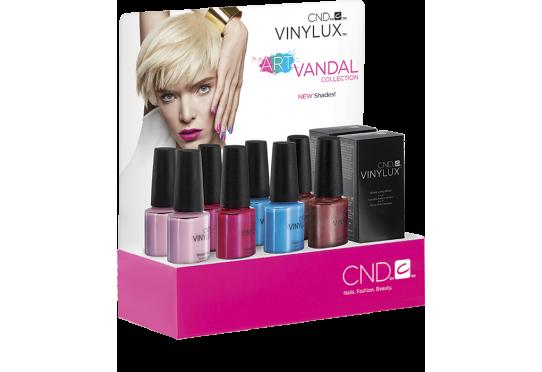 Набір лаків Vinylux™ Art Vandal Small (4 лака и 1 Закріплювач) Фото 1