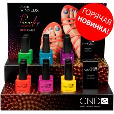 Набор лаков для ногтей CND Vinylux Paradise Summer 2014