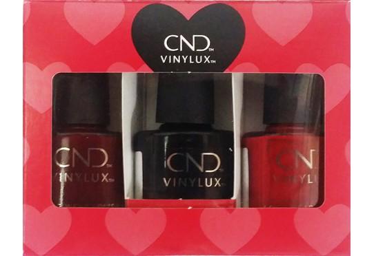 Набор лаков для ногтей CND™ Vinylux™ Valentines Red Hots Kit Фото 1