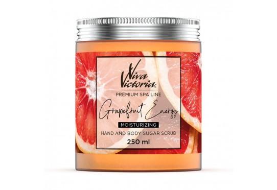 Цукровий скраб для рук і тіла Viva Victoria Енергія грейпфрута (250мл) Фото 1
