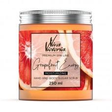 Цукровий скраб для рук і тіла Viva Victoria Енергія грейпфрута (250мл)