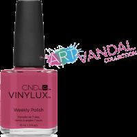 Лак для ногтей CND Vinylux Irreverent Rose (розовый с красными оттенками) 15 мл