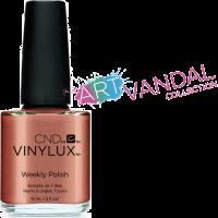 Лак для ногтей CND Vinylux Sienna Scribble (бронзовый с металическим блеском)